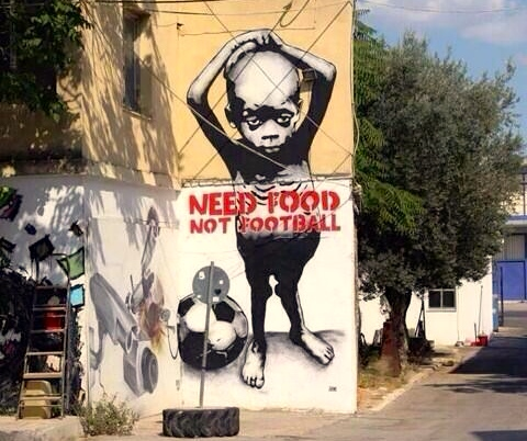 Food not football
